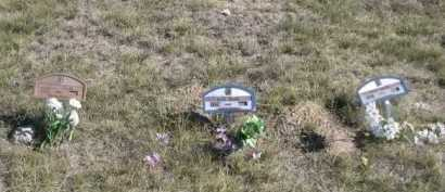 CLARK, BABIES (THREE) - Dawes County, Nebraska   BABIES (THREE) CLARK - Nebraska Gravestone Photos