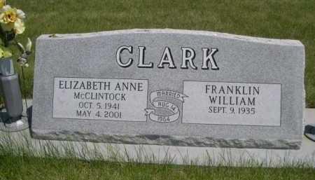 CLARK, FRANKLIN WILLIAM - Dawes County, Nebraska | FRANKLIN WILLIAM CLARK - Nebraska Gravestone Photos