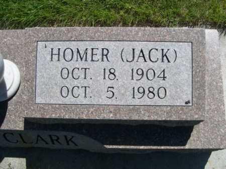 CLARK, HOMER (JACK) - Dawes County, Nebraska | HOMER (JACK) CLARK - Nebraska Gravestone Photos