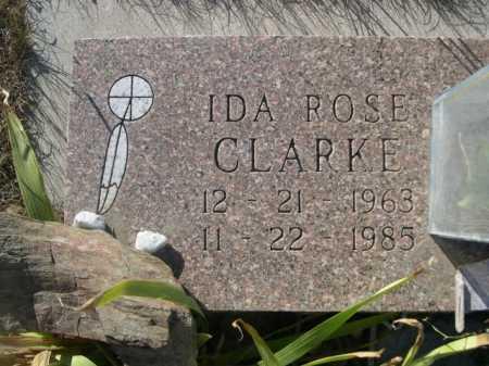 CLARKE, IDA ROSE - Dawes County, Nebraska   IDA ROSE CLARKE - Nebraska Gravestone Photos