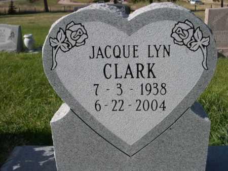 CLARK, JACQUE LYN - Dawes County, Nebraska | JACQUE LYN CLARK - Nebraska Gravestone Photos