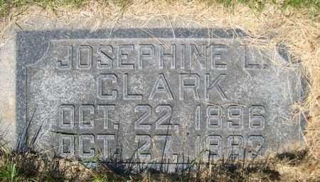 CLARK, JOSEPHINE L. - Dawes County, Nebraska | JOSEPHINE L. CLARK - Nebraska Gravestone Photos