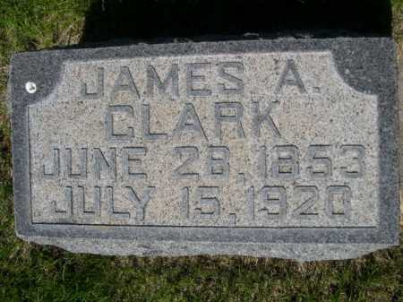 CLARK, JAMES A. - Dawes County, Nebraska | JAMES A. CLARK - Nebraska Gravestone Photos