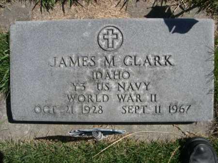 CLARK, JAMES M. - Dawes County, Nebraska   JAMES M. CLARK - Nebraska Gravestone Photos