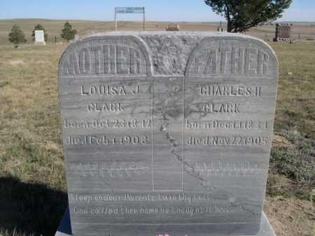 CLARK, LOUISA J. - Dawes County, Nebraska | LOUISA J. CLARK - Nebraska Gravestone Photos