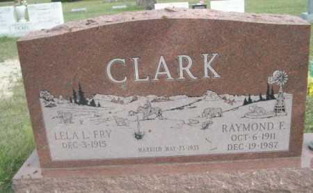 CLARK, RAYMOND F. - Dawes County, Nebraska | RAYMOND F. CLARK - Nebraska Gravestone Photos