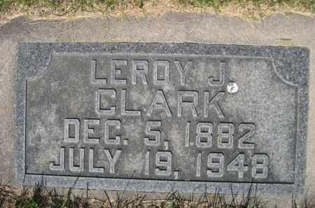 CLARK, LEROY J. - Dawes County, Nebraska | LEROY J. CLARK - Nebraska Gravestone Photos