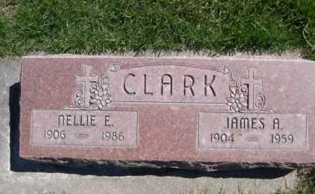CLARK, NELLIE E. - Dawes County, Nebraska | NELLIE E. CLARK - Nebraska Gravestone Photos