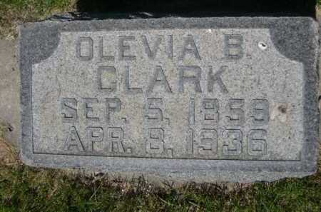 CLARK, OLEVIA B. - Dawes County, Nebraska   OLEVIA B. CLARK - Nebraska Gravestone Photos