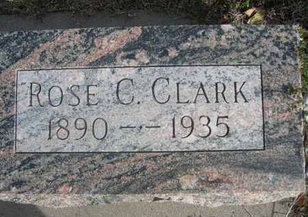 CLARK, ROSE C. - Dawes County, Nebraska | ROSE C. CLARK - Nebraska Gravestone Photos