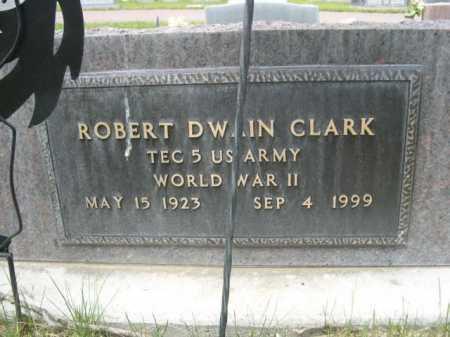 CLARK, ROBERT DWAIN - Dawes County, Nebraska | ROBERT DWAIN CLARK - Nebraska Gravestone Photos