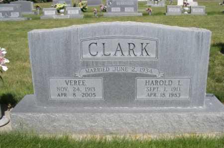 CLARK, VEREE - Dawes County, Nebraska | VEREE CLARK - Nebraska Gravestone Photos