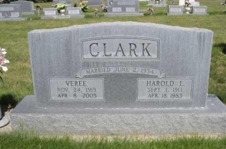 CLARK, VEREE - Dawes County, Nebraska | VEREE CLARK - Nebraska Gravestone Photos