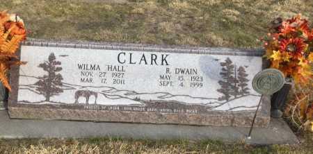 CLARK, R. DWAIN - Dawes County, Nebraska | R. DWAIN CLARK - Nebraska Gravestone Photos