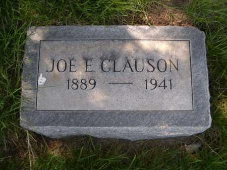CLAUSON, JOE E. - Dawes County, Nebraska | JOE E. CLAUSON - Nebraska Gravestone Photos