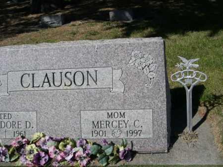 CLAUSON, MERCEY C. - Dawes County, Nebraska | MERCEY C. CLAUSON - Nebraska Gravestone Photos