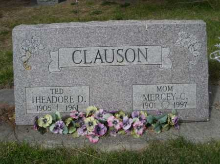 CLAUSON, MERCEY C. - Dawes County, Nebraska | MERCEY C. CLAUSON - Nebraska Gravestone Photos
