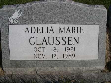 CLAUSSEN, ADELIA MARIE - Dawes County, Nebraska | ADELIA MARIE CLAUSSEN - Nebraska Gravestone Photos