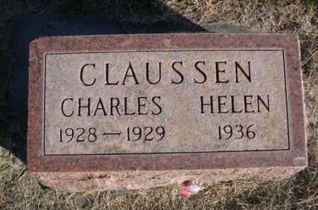 CLAUSSEN, HELEN - Dawes County, Nebraska | HELEN CLAUSSEN - Nebraska Gravestone Photos