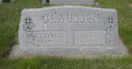 CLAUSSEN, CLAYWELL - Dawes County, Nebraska | CLAYWELL CLAUSSEN - Nebraska Gravestone Photos