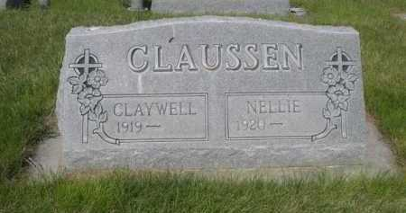 CLAUSSEN, NELLIE - Dawes County, Nebraska | NELLIE CLAUSSEN - Nebraska Gravestone Photos