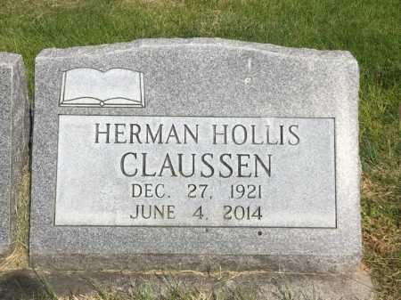 CLAUSSEN, HERMAN HOLLIS - Dawes County, Nebraska | HERMAN HOLLIS CLAUSSEN - Nebraska Gravestone Photos