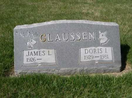 CLAUSSEN, DORIS I. - Dawes County, Nebraska | DORIS I. CLAUSSEN - Nebraska Gravestone Photos