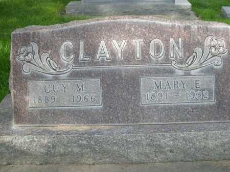 CLAYTON, GUY M - Dawes County, Nebraska | GUY M CLAYTON - Nebraska Gravestone Photos