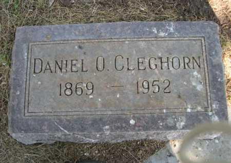 CLEGHORN, DANIEL O. - Dawes County, Nebraska | DANIEL O. CLEGHORN - Nebraska Gravestone Photos