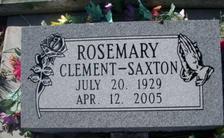 CLEMENT-SAXTON, ROSEMARY - Dawes County, Nebraska | ROSEMARY CLEMENT-SAXTON - Nebraska Gravestone Photos
