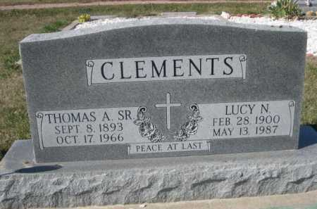 CLEMENTS, LUCY N. - Dawes County, Nebraska | LUCY N. CLEMENTS - Nebraska Gravestone Photos