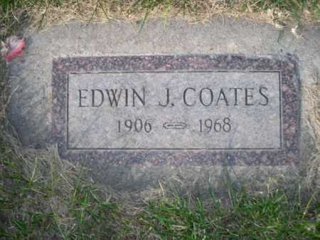 COATES, EDWIN - Dawes County, Nebraska | EDWIN COATES - Nebraska Gravestone Photos