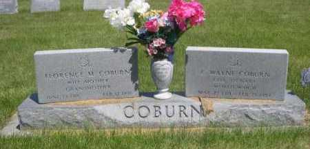 COBURN, C. WAYNE - Dawes County, Nebraska | C. WAYNE COBURN - Nebraska Gravestone Photos