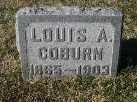 COBURN, LOUIS A. - Dawes County, Nebraska   LOUIS A. COBURN - Nebraska Gravestone Photos