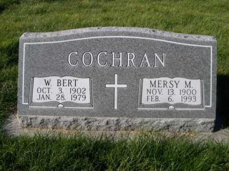 COCHRAN, W. BERT - Dawes County, Nebraska | W. BERT COCHRAN - Nebraska Gravestone Photos
