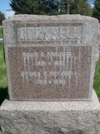 COCKRELL, REGINA E. - Dawes County, Nebraska   REGINA E. COCKRELL - Nebraska Gravestone Photos
