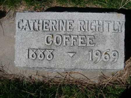 COFFEE, CATHERINE - Dawes County, Nebraska   CATHERINE COFFEE - Nebraska Gravestone Photos