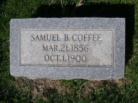 COFFEE, SAMUEL B. - Dawes County, Nebraska   SAMUEL B. COFFEE - Nebraska Gravestone Photos