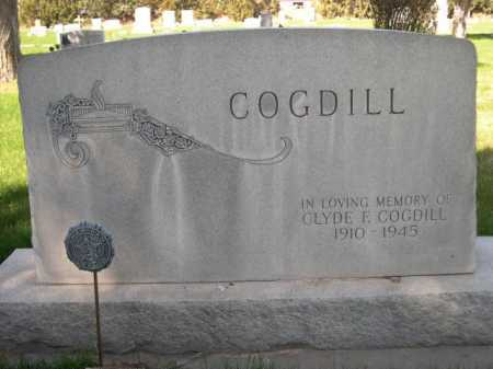 COGDILL, CLYDE E. - Dawes County, Nebraska   CLYDE E. COGDILL - Nebraska Gravestone Photos