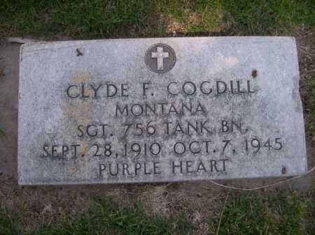 COGDILL, CLYDE F. - Dawes County, Nebraska   CLYDE F. COGDILL - Nebraska Gravestone Photos
