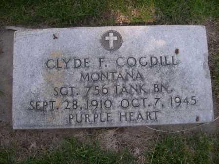 COGDILL, CLYDE F. - Dawes County, Nebraska | CLYDE F. COGDILL - Nebraska Gravestone Photos