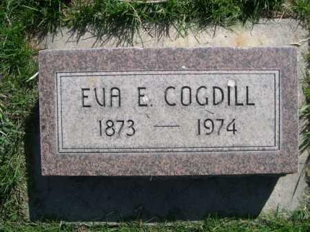 COGDILL, EVA E. - Dawes County, Nebraska   EVA E. COGDILL - Nebraska Gravestone Photos