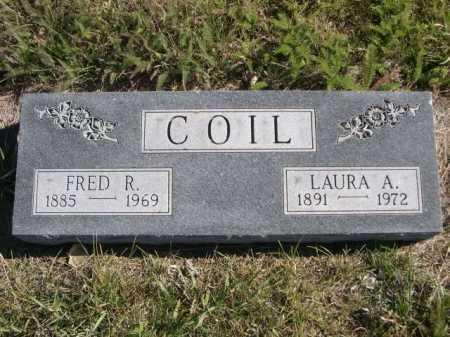 COIL, FRED R. - Dawes County, Nebraska   FRED R. COIL - Nebraska Gravestone Photos