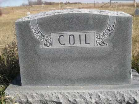 COIL, FAMILY - Dawes County, Nebraska | FAMILY COIL - Nebraska Gravestone Photos