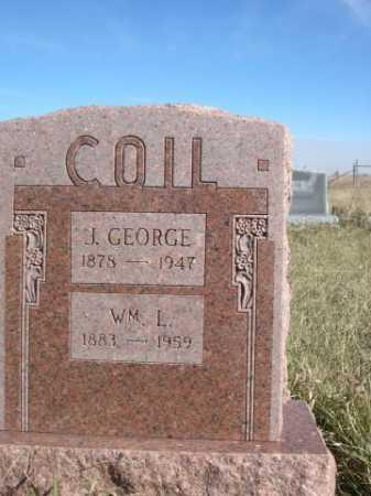 COIL, J. GEORGE - Dawes County, Nebraska   J. GEORGE COIL - Nebraska Gravestone Photos