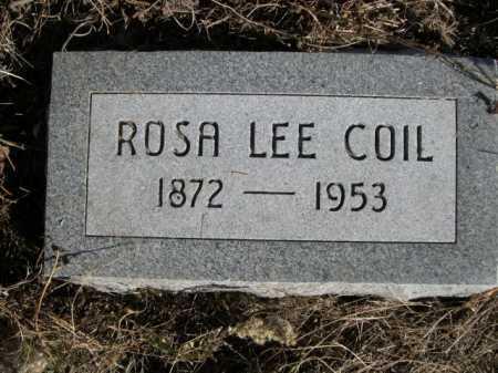 COIL, ROSA LEE - Dawes County, Nebraska | ROSA LEE COIL - Nebraska Gravestone Photos