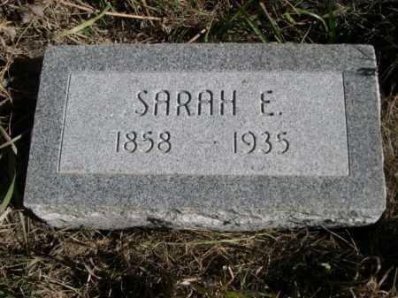 COIL, SARAH E. - Dawes County, Nebraska | SARAH E. COIL - Nebraska Gravestone Photos