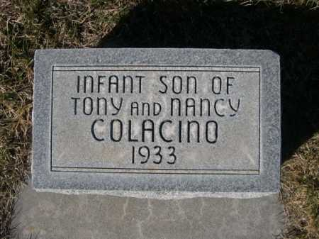 COLACINO, INFANT SON OF TONY AND NANCY - Dawes County, Nebraska | INFANT SON OF TONY AND NANCY COLACINO - Nebraska Gravestone Photos