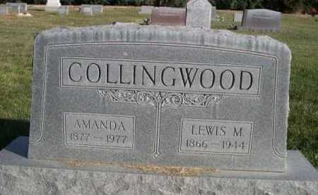 COLLINGWOOD, AMANDA - Dawes County, Nebraska | AMANDA COLLINGWOOD - Nebraska Gravestone Photos