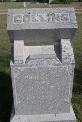 COLLINS, PHOEBE G. - Dawes County, Nebraska | PHOEBE G. COLLINS - Nebraska Gravestone Photos